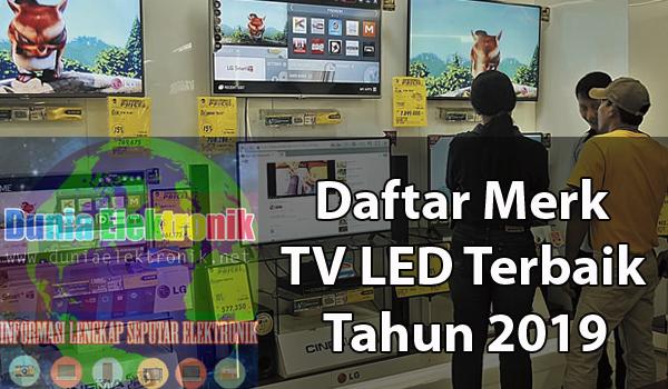 merk LED TV terbaik