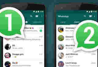 Dua WhatsApp dalam satu smartphone