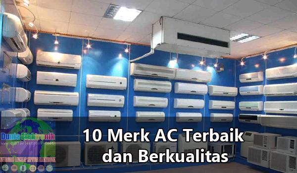 Merk AC terbaik