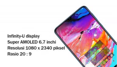 Spesifikasi Samsung Galaxy A70