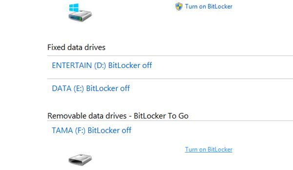 Cara memberi pasword USB