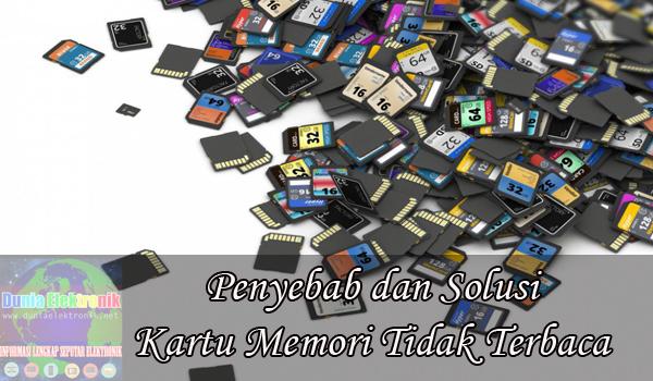 Cara memperbaiki memory card yang tidak terbaca sama sekali