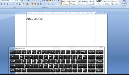 Cara Menampilkan Virtual Keyboard