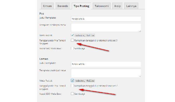 Cara Menghilangkan Tanggal Posting Blog