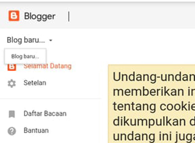 Cara membuat website blogspot profesional