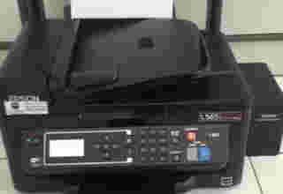 Epson L565 tidak bisa copy