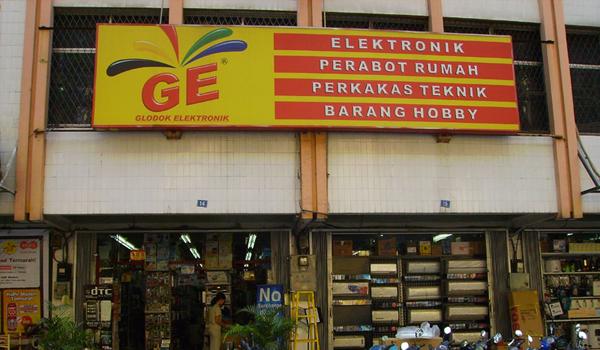Toko elektronik terbaik di kota Bekasi