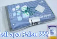 Tips Menghindari Baterai Palsu