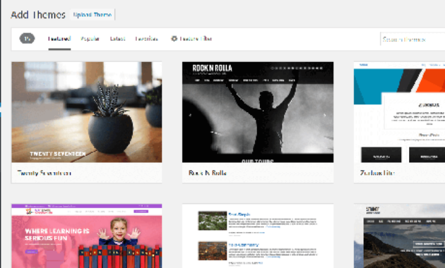 Cara install tema WordPress