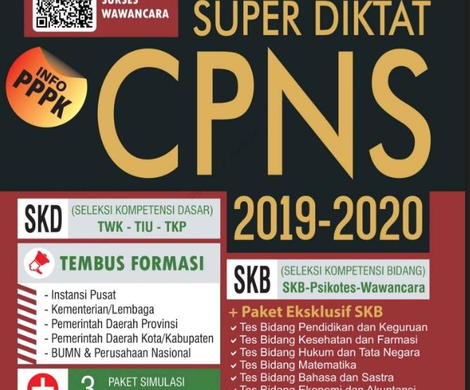 Panduan soal cpns 2019