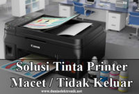 Tinta Printer Macet