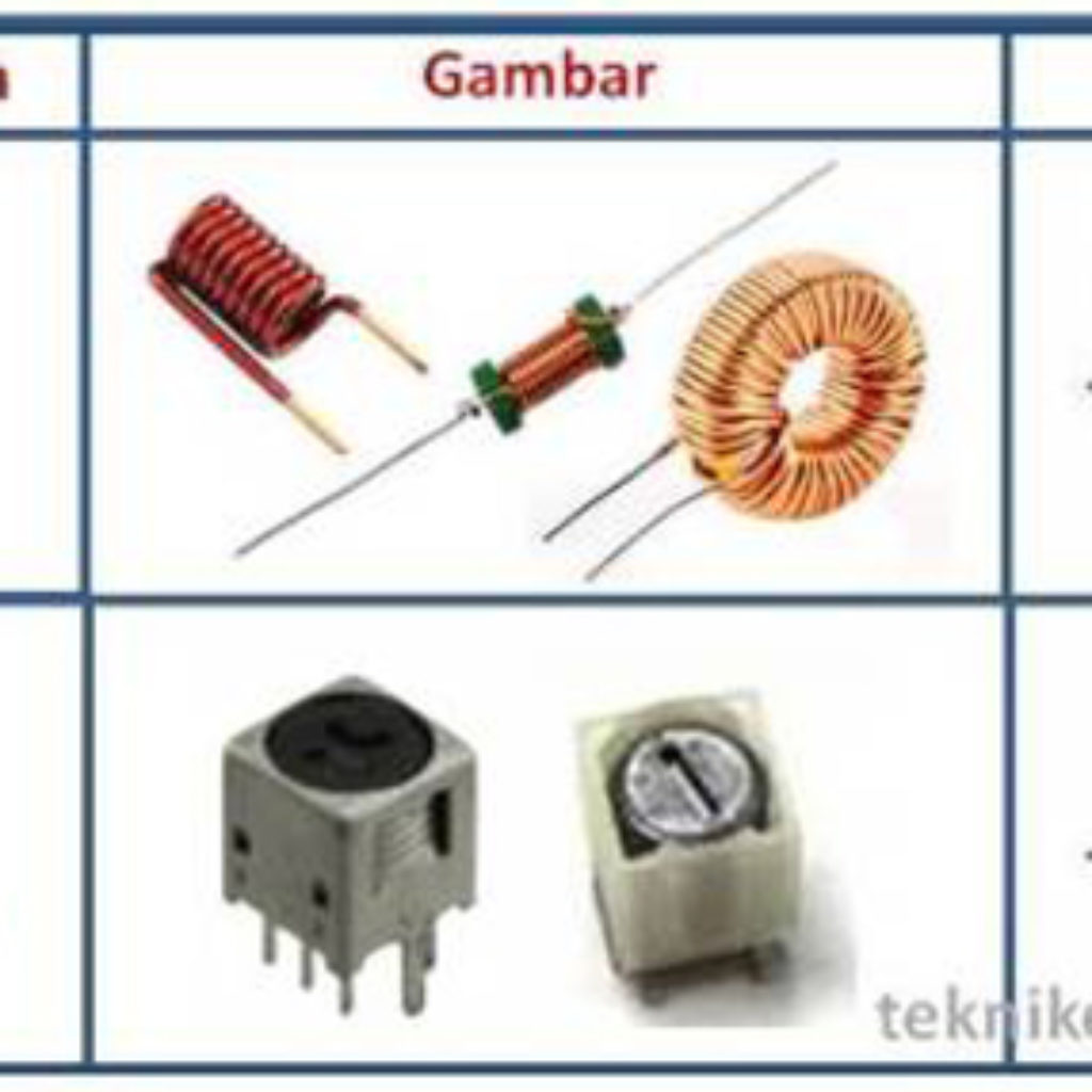 Pengertian komponen elektronik pasif