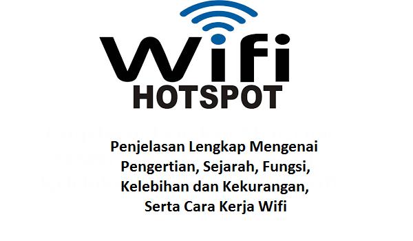 pengertian wifi