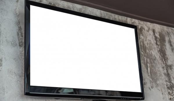cara memperbaiki tv lcd blank putih