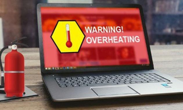 laptop mengalami panas berlebih