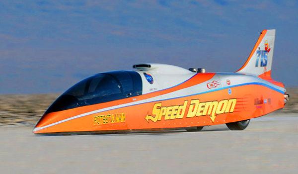mobil roket mobil paling cepat sedunia