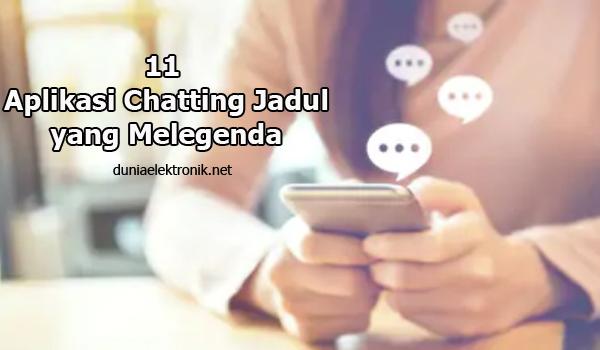 aplikasi chatting jadul