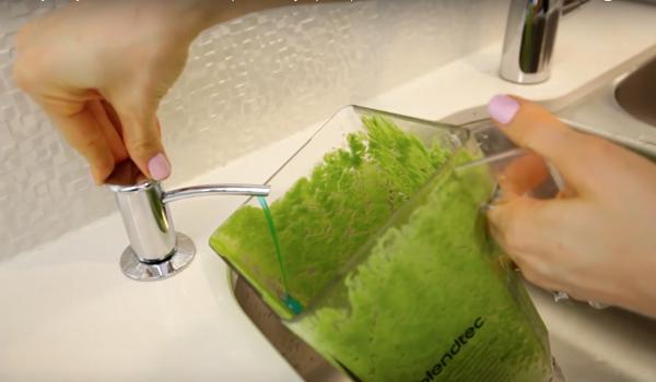 cara membersihkan blender