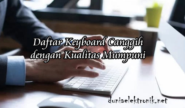 Keyboard Wireless Canggih