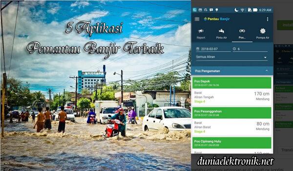 aplikasi pemantau banjir