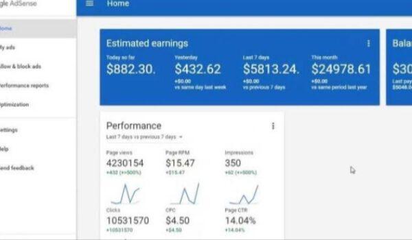 Cara membaca laporan Google Adsense