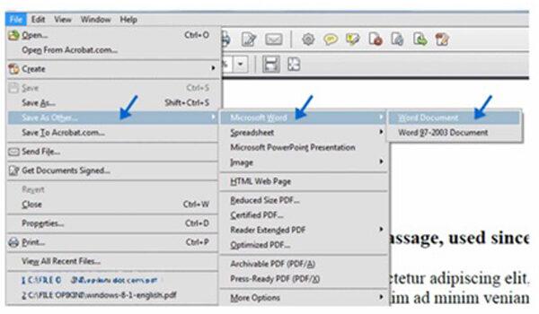 cara converter pdf