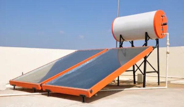 cara kerja pemanas air tenaga surya