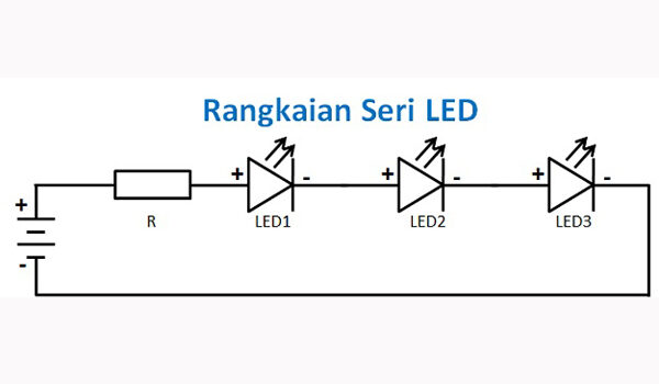 Teknik Dasar Merangkai Lampu LED