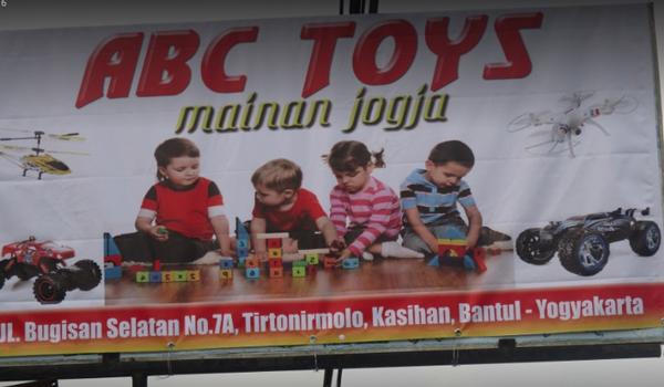 Toko mainan terbaik di Jogja