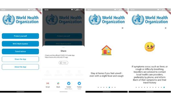 Aplikasi WHO COVID-19
