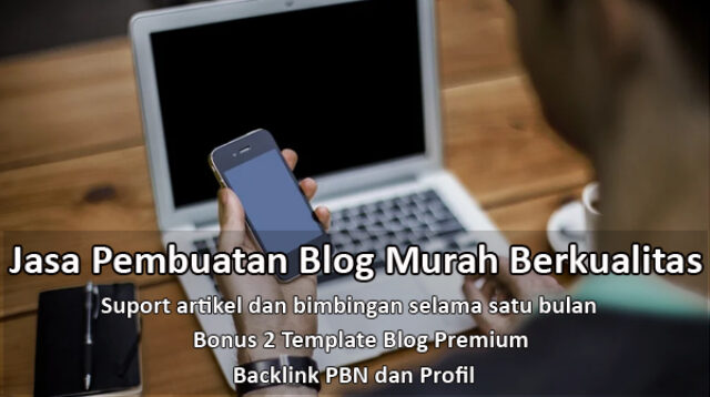 jasa pembuatan blog murah berkualitas