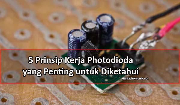Prinsip Kerja Photodioda