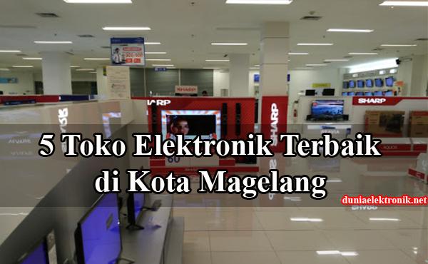 Toko elektronik di Magelang