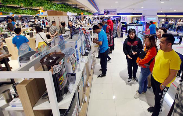 toko elektronik di Sumedang