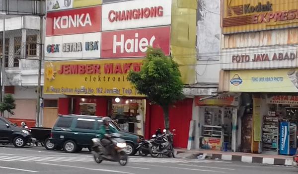 toko elektronik di Jember