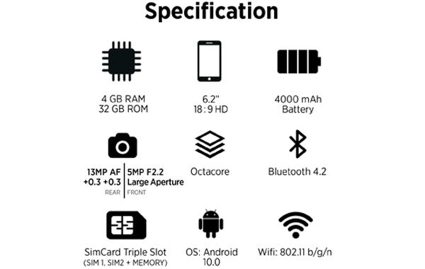 Spesifikasi Advan G5