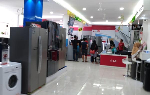 Toko elektronik terbaik di Riau