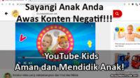 cara menggunakan youtube kids
