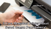 Cara Mengatasi Printer Macet