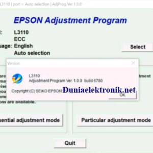 download resetter epson l3110 gratis tanpa password